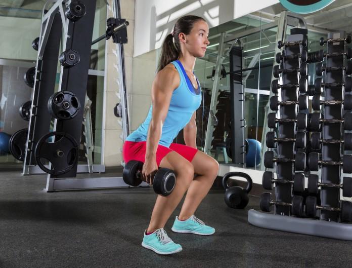 Trainignsübung Goblet Squats