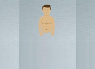 Hier sieht man die 3 Körpertypen nebeneinander: Ektomorph, Endomorph und Mesomorph