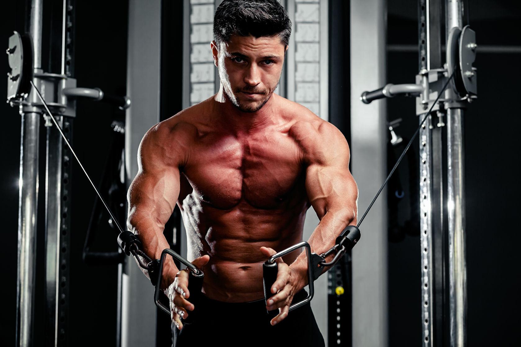 Jeden tag fitnessstudio split