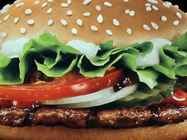 hamburger fast food trainig