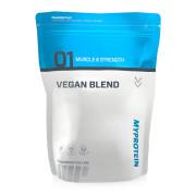 """Eine Tüte """"Vegan Blend"""" vor weißem Hintergrund"""