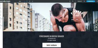 Fitness Website erstellen